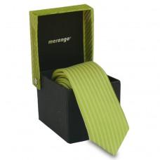 Keskeny nyakkendő dobozban - vil.zöld