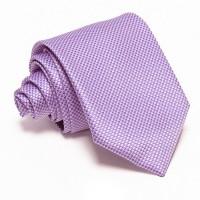 Lila nyakkendő - anyagában mintás